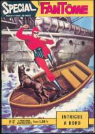 No PAYPAL Spécial Le FANTÔME 67 Intrigue A Bord (Bateau)+ FICHES Auto Carton+Raoul Et Gaston ,Eo REMPARTS 1969 TTBE/NEUF - Phantom
