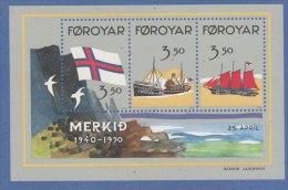 ISOLA Di  FOROYAR -Foglietto 1990 (130709) - Faroe Islands