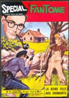 Spécial Le FANTÔME 72 : La Jeune Fille Aux Diamants + Rip Kirby ( John Prentice ) , éo REMPARTS 1969 TTBE/NEUF - Phantom