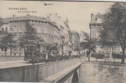 Charleroi     Rue Du Pont Neuf   Tram           Scan 6545 - Charleroi