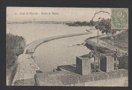 DF / 13 BOUCHES-DU-RHÔNE / CANAL DE MARSEILLE - BASSIN DE RÉALTOR / CIRCULÉE EN 1907 - Unclassified