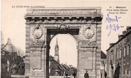 Beaune : Porte St-Nicolas, Route De Dijon (Editeur B.F., N°34 - Imp. Catala Frères, Paris) Série La Côte D'Or Illustrée - Beaune