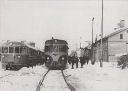 TOIJALA / LA GARE AVEC TRAIN (avec PHILATELIE) - Finland