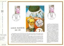 FRANCE  HOMMES CELEBRES   1973  OBLITERATION  1er JOUR - Documents Of Postal Services