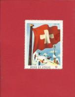 """ERINNOPHILIE: Vignette Suisse, """" Hiver En Suisse """" - Schweiz"""