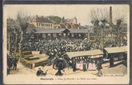 MONTARGIS . Place Du Marché - La Halle Aux Veaux . . - Montargis