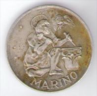 SAN MARINO 500 LIRE 1975 AG SILVER - San Marino