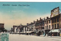 22742 CANADA QUEBEC Ontario -Hamilton King Street East - Raphael Tuck 1038 -publicite Faylor's Soap - Hamilton