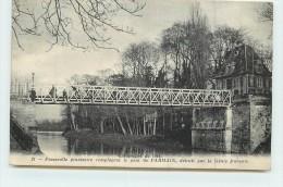 PARMAIN  - Passerelle Provisoire Remplaçant Le Pont De Parmain. - Parmain