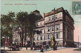 22743 CANADA QUEBEC Montreal Palais De Justice -european Card 2002 - Publicité Cognac Jockey Club -