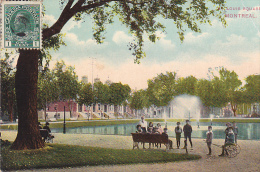 22748 CANADA QUEBEC Montreal Louis Square -, -Montreal Import161 Enfant Charette - Montreal