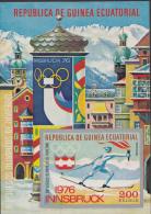 Guinea Ecuatoriaal - 1976 - Olympics, Olympiade, Olympiques - Innsbruck 1976 - Postfris/MNH - Winter 1976: Innsbruck