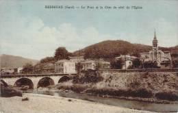 30 - Bessèges - Le Pont Et La Cèze Du Côté De L'Eglise - Bessèges