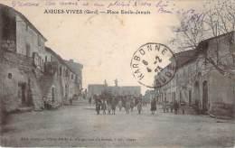 30 - Aigues-Vives - Place Emile-Jamais - Aigues-Vives