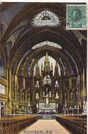 22755 CANADA QUEBEC MONTREAL Interior Of Notre Dame Church -european Card 2004