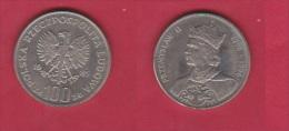 POLOGNE //  100 Zlotych 1985  //  état  SUP - Polonia