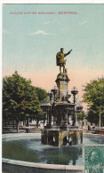 22760 CANADA QUEBEC MONTREAL  Jacques Cartier Monument -montreal Import 141 - Montreal