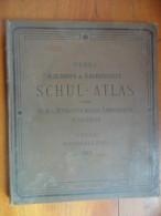 De 1913 - Schulatlas (atlas Scolaire ) - DEBES  - - Mappemondes