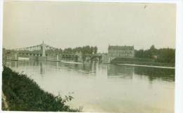 LANGERBRUGGE. De brug, FOTOKAART