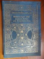 De 1906 /1907 - Deutsche Bauzeitung (Journal Allemand De La Construction) - - Mappemondes