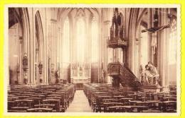 * Dentergem - Denterghem (Tielt - Waregem) * (Nels) Middenbeuk Der Kerk, Interieur De L'église, Church, CPA - Dentergem