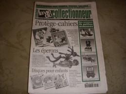 LA VIE Du COLLECTIONNEUR LVC 236 04.09.1998 PROTEGE CAHIERS EPERON DISQUE ENFANT - Collectors