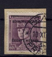 B�hmen M�hren Michel No. 8 gestempelt used