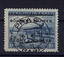 B�hmen M�hren Michel No. 19 gestempelt used