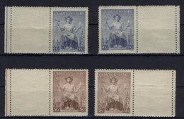 CSSR  Michel No. 404 - 405 Zf ** postfrisch