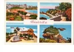 C P S M---64---BIARRITZ----multivues---voir 2 Scans - Biarritz