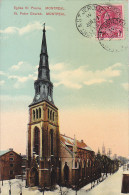 22774  CANADA QUEBEC Montreal  Eglise Saint Pierre  Peter Church - European Post Card  -pas N° - Montreal