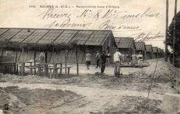 CPA  -    SALBRIS  (41)   Baraquements  Route D' Orléans - Salbris