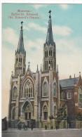 22780  CANADA QUEBEC MONTREAL St Edward Chruch Eglise Saint Edouard - International Post Card - Montreal