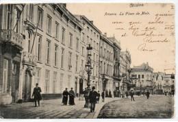 Tarjeta Postal De Anvers. La Place De Meir. - Bélgica