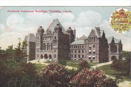 22792 CANADA QUEBEC TORONTO , Provincial Parliament Building -A.780.29 NCo - Toronto