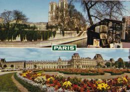 Panorama De Paris - Notre-Dame Et La Seine, Le Louvre - 10/3282 Unused - Panoramic Views