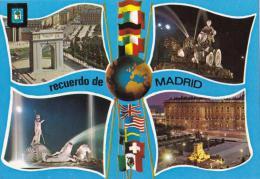 Madrid, Spain Multiview  - Dominguez 71 Unused - Madrid