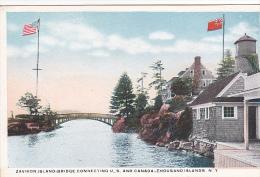 22797 CANADA Thousand Islands NY Zavikon Island Bridge Connecting - Flack EEF - - Canada