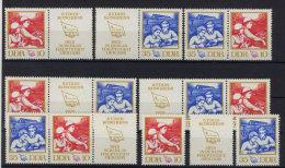 Lot DDR ZD Michel No. 1761 - 1762 /  W Zd 263 - 268 ** postfrisch