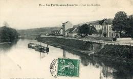 CPA 77 LA FERTE SOUS JOUARRE QUAI DES MOULINS 1908 - La Ferte Sous Jouarre