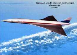 Transport Quadri Reacteur Supersonique Concorde (Sud-Bac) - 1946-....: Moderne