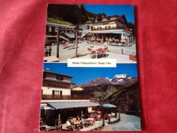 Zwitserland Hotel Fletschhorn Saas Fee 1981 - Hotel's & Restaurants