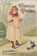 Chromo Chocolat Poulain Jeune Fille Poupée - Unclassified