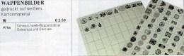 73 Wappen-Bilder Der Welt 4€ Zur Kennzeichnung Von Karten Büchern Alben+Sammlungen Ohne Farbe LINDNER #975 Waps Of World - Karteikarten