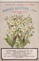 Chromo Armand Gontier Graine Jardin D´essai Fleur Plante à Fontenay Aux Roses Cynoglosse Lin - Unclassified