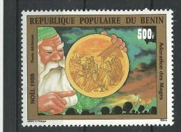 "Benin Aerien YT 365 "" Noël "" 1988 Neuf** - Bénin – Dahomey (1960-...)"