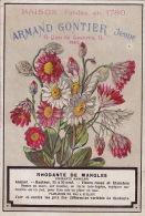 Chromo Armand Gontier Graine Jardin D´essai Fleur Plante à Fontenay Aux Roses Rhodante De Mangles - Unclassified