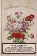 Chromo Armand Gontier Graine Jardin D´essai Fleur Plante à Fontenay Aux Roses Phlox - Unclassified