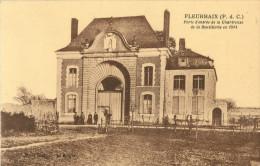 62 FLEURBAIX - PORTE D ENTREE DE LA CHARTREUSE DE LA BOUTILLERIE EN 1914 ( ANIMEE ) - France