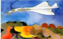 Carte Offerte Par La Poste Le Ciecle Au Fil Du Timbre, Illustrateur, Concorde - 1946-....: Moderne